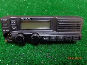 Kenwood Tk790h Vhf Tk890h Uhf Mobile Radio Control Head Faceplate Great Shape B3