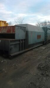 Trash Garbage Recycling 30yd Self Contain Compactor