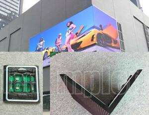Hd Control Card Wi fi P6 Mm 2 Ft X 16 Ft Full Color Led Sign Ip65