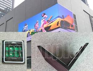 Ul Wi Fi P6 Mm 2 Ft X 16 Ft Full Color Led Sign Ip65