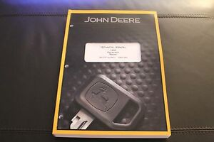 John Deere 120d Excavator Repair Service Technical Manual Tm10737