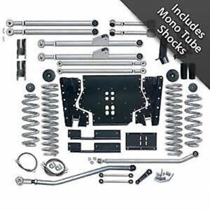 Rubicon Express 3 5 Extreme Duty Long Arm Lift Kit Jeep Wrangler Tj 1997 2002