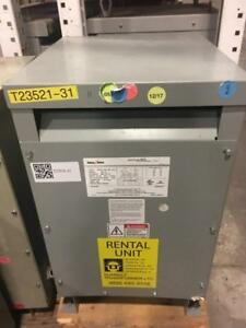 15 Kva Federal Pacific Dry type Transformer 480 208 Serial 2