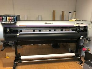 Mimaki Cjv30 160 Large Format Printer cutter