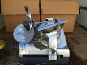 Hobart 2912 Manual Automatic Meat Cheese Deli Slicer Sharpener