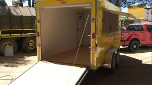 14 X 7 New Concession Cargo catering Trailer