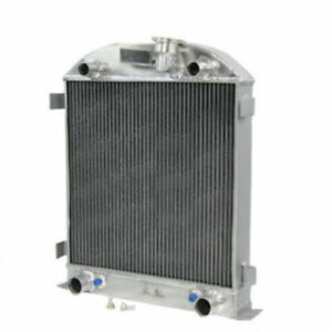 4rows Aluminum Radiator For Ford Model A Flathead Engine At Mt 1928 1929