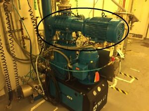 Tuthill Model Mb 720 90l2ck Vacuum Blower Booster System