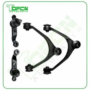 4pc Control Arms Upper And Lower Ball Joints For 1998 2010 Lexus Gs430 Sc430