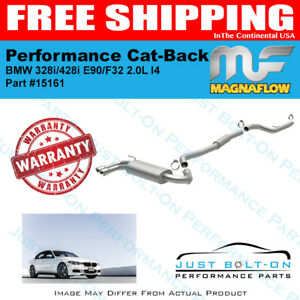 Magnaflow Touring Ss Cat back For 2014 2016 Bmw 428i F32 2 0l L4 Coupe 15161