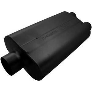 Flowmaster Universal 50 Delta Flow Muffler 3 00 Ctr In 2 50 Dual Out