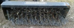 Sweepster Power Brush Pto Broom Parking Lot Sweeper