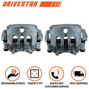 Set 2 Brand New Front Lh Rh Disc Brake Calipers W bracket For Mercedes benz