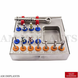 New Dental Surgical Drill Kit Drills Drivers Ratchet Dental Implant Brand New Ce