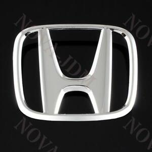 Chrome Front Grille H Emblem For 2006 2008 Honda Civic 4dr 2007 2008 Element