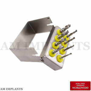 Dental Implant Surgery Implant Drills Kit External Irrigation Drills New
