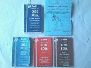 4 Curtis Model 15 Key Cutter Code Books And Key Application Cross Reference