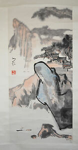 Chinese Scroll Ink On Paper Painting 39
