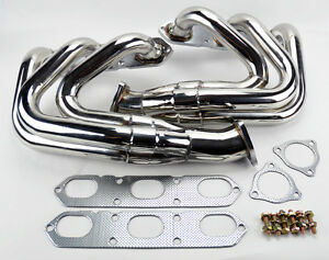 Porsche 996 997 911 Nt 99 05 Exhaust Headers Stainless Steel W Gaskets Non Turbo