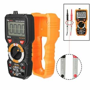 Dmiotech Digital Multimeter Dc Ac Voltage Current Ohm Meter Resistance Capaci