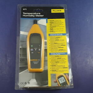 New Fluke 971 Temperature Humidity Meter See Details