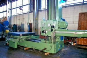 5 Boring Mill Wotan Horizontal W 67 X 60 Rotary Table 4 axis Dro Hbm
