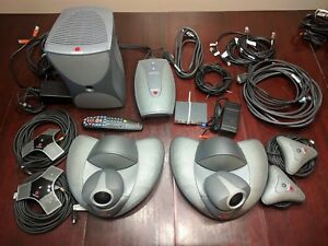Polycom Vsx 7000 Video Conferencing System W sub Vsx 6000 And Many Extras