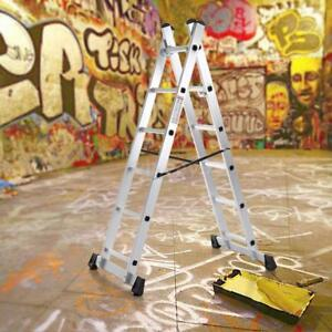 En131 Multi Purpose Step Platform Scaffolding Aluminum Extension Ladder Q5n9