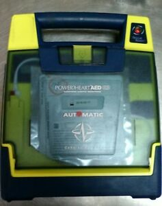 Cardiac Science Powerheart G3 Automatic Aed W Pads And Case No Battery