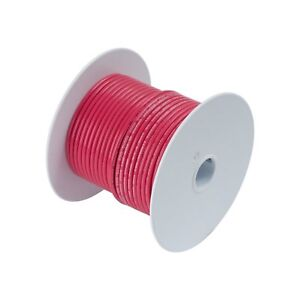 Calterm 52125 Electrical Primary Wire 100 Ft 12 Awg Red