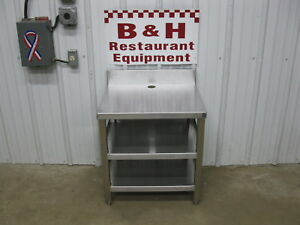 23 3 8 X 20 X 26 Tall Stainless Steel Heavy Duty Equipment Stand Table