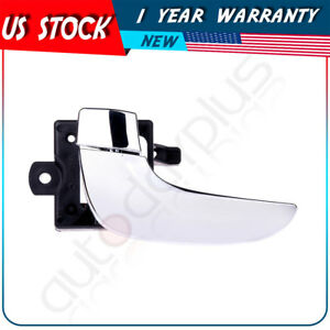 Door Handle Inside Front Rear Chrome Driver Lh Side For 02 07 Buick Rendezvou