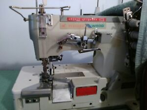 Pegasus W500 Coverstitch 3 needle Elastic Attaching Industrial Sewing Machine