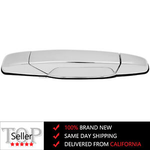 Exterior Chrome Door Handle Front Passenger Rh Side For Chevy Gmc Cadillac