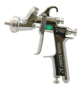 Anest Iwata W 400 182g 1 8mm Gravity Spray Gun No Cup Center Cup Guns W400