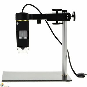 25cm Working Distance 1 500x Usb Digital Electronic Microscope For Pcb Repair