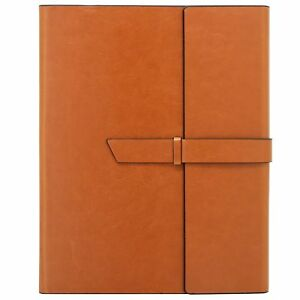Gallaway Leather Padfolio Portfolio Writing Pad Folder Fits Letter Legal A4