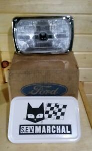Nos Vintage Ford Sev Marchal 950 Fog driving Light Lamp With Cover