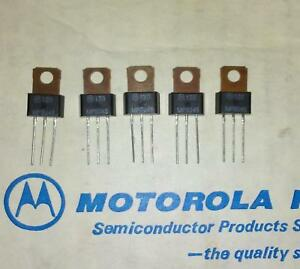 10 X Mps u45 Npn Darlington Transistor 40v 2a To 202 Mpsu45 Genuine Motorola