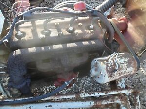 Ford 8n Tractor Gas Engine 4 Cylinder Motor