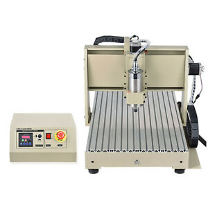 4 Axis 1 5kw Cnc Router 6040 Drilling Milling Pro Engraver Machine Desktop In