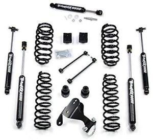 Teraflex Jeep Jk 4dr 2 5 Suspension Lift With Steering Stabilizer