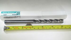 Metal Removal Carbide 7 16 Extra Long Length 6 Endmill Milling Lathe Tool Bit