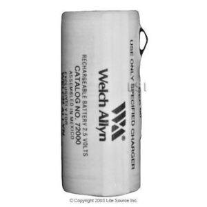72000 Welch Allyn Brand Oem 2 5v Rechargeable Nicd Battery red 900mah