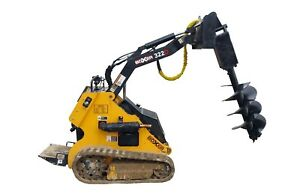 Mini Skid Steer Attachment Auger Drive W Dirt Bit Free Shipping Toro Dingo