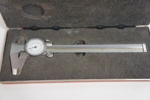 Brown Sharpe 001 Dial Caliper 578 Machinest Tool Made In Germany