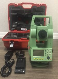 Leica Tcr 803 3 R100 Power Total Station For Surveying