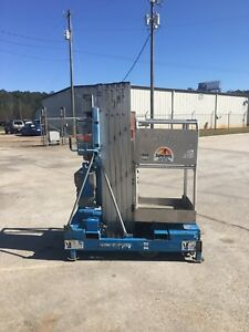 2008 Genie Iwp 25s Dc Powered Vertical Mast One Man Scissor Jlg Awp Lift