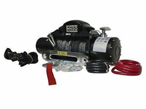 Engo 97 12000s Electric Winch With Synthetic Rope 12 000lbs