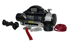 Engo 97 10000s Electric Winch With Synthetic Rope 10 000lbs